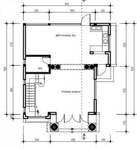 Bản vẽ thiết kế Biệt thự 3 tầng chữ L