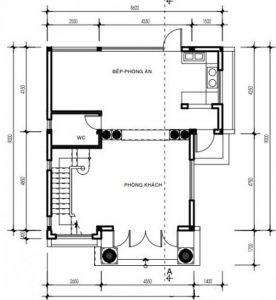 Bản vẽ CAD mẫu Biệt thự 3 tầng đẹp năm 2018