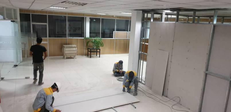 Hình ảnh thi công Cải tạo sửa chữa công ty Gỗ Việt Tú – KCN Nam Tân Uyên Bình Dương 8