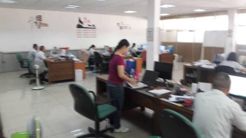 Văn phòng công ty Gỗ Việt Tú