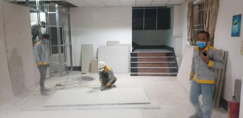 Hình ảnh thi công Cải tạo sửa chữa công ty Gỗ Việt Tú – KCN Nam Tân Uyên Bình Dương 3