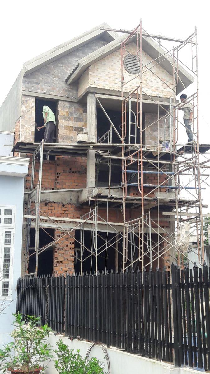 Hoàn thiện ngôi nhà Phố hiện đại chị Hòa tại Biên Hòa - Đồng Nai