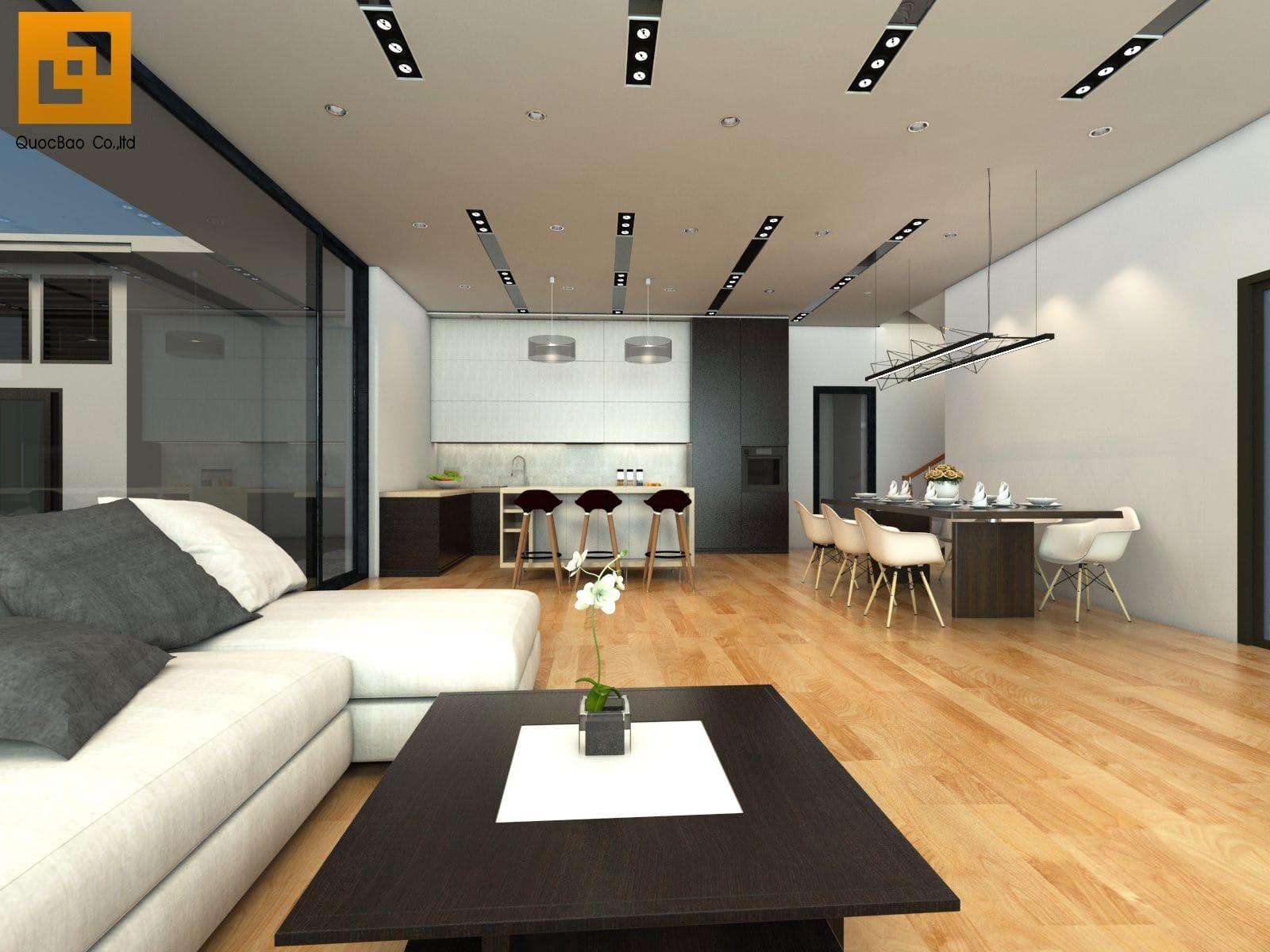 Thiết kế nội thất Biệt thự sân vườn tại Biên Hòa