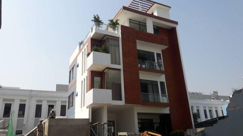 Biệt thự Biên Hòa thành hình