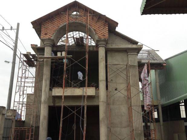 Thi công công ty gỗ Thiên Ân Thịnh