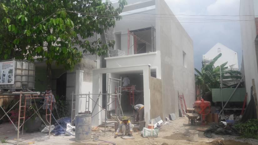 Hoàn thiện nhà anh Hữu tại Hố Nai - Biên Hòa