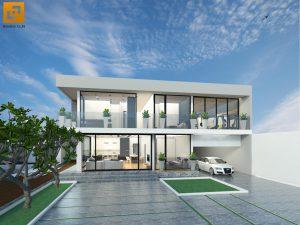 Thiết kế Biệt thự sân vườn gia đình anh Đức tại Biên Hòa-Đồng Nai