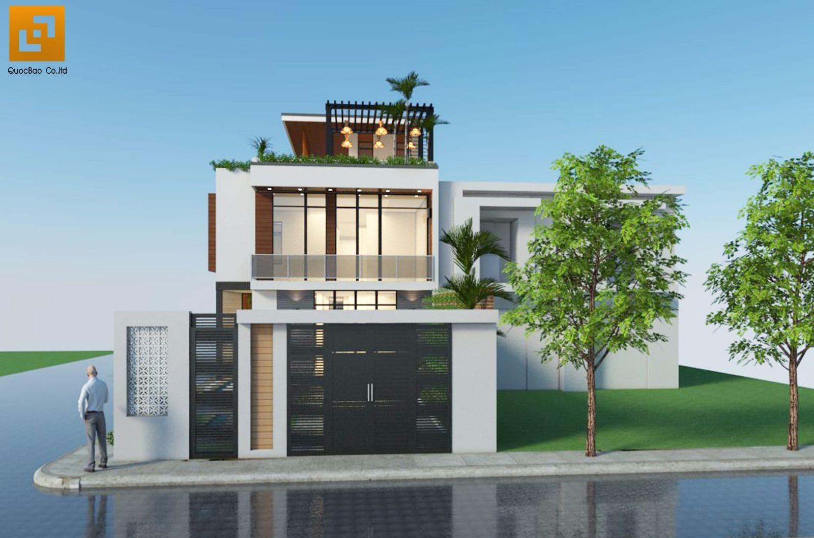 Mặt tiền nhà phố đẹp mắt tại Biên Hòa