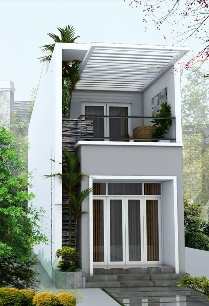 Thiết kế Nhà phố anh Hữu tại Hố Nai - Biên Hòa