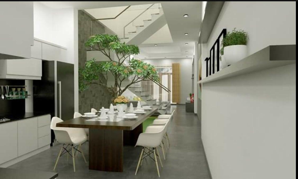 Thiết kế phòng ăn nhà phố Biên Hòa