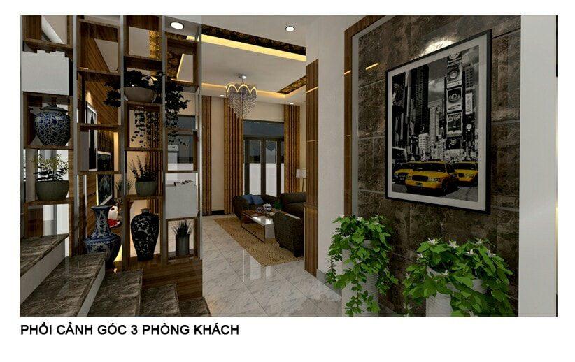 Thiết kế nội thất Biệt thự nhà anh Khánh Biên Hòa - Đồng Nai