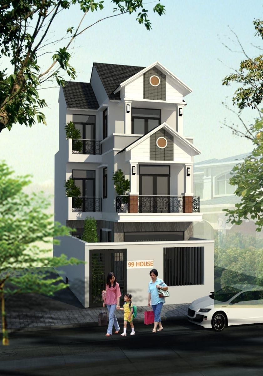 Thiết kế Thi công Biệt thự Mini tại Biên Hòa