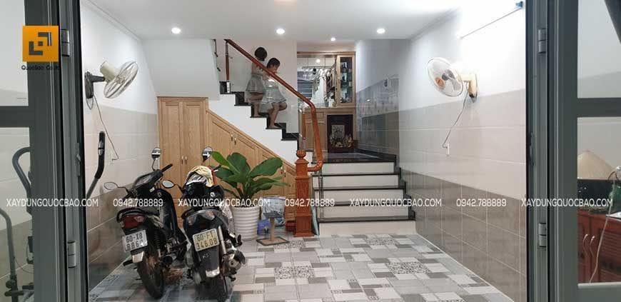 Bàn giao ngôi nhà hoàn thiện cho gia đình chủ nhà - Ảnh 1