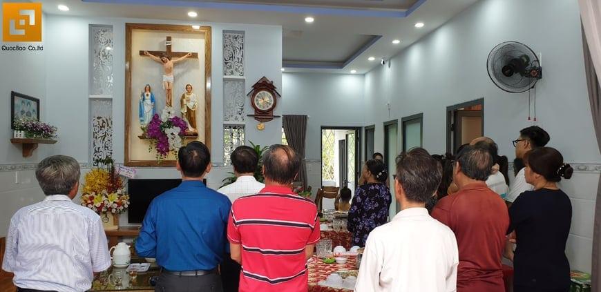 Bàn giao ngôi nhà phố cho gia đình bà Ngoại Lộc Lâm - Ảnh 5