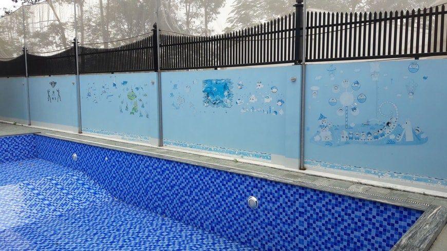 Cải tạo sửa chữa bể bơi gia đình anh Trịnh chị Yên Hố Nai – Biên Hòa - Ảnh thi công 3