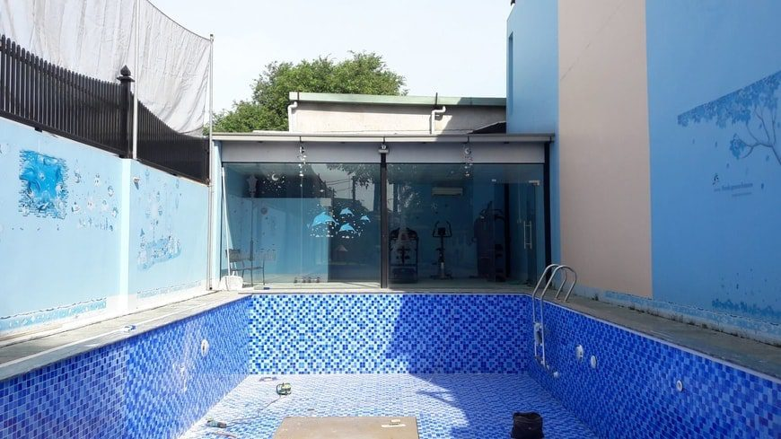 Cải tạo sửa chữa bể bơi gia đình anh Trịnh chị Yên Hố Nai – Biên Hòa - Ảnh thi công 4