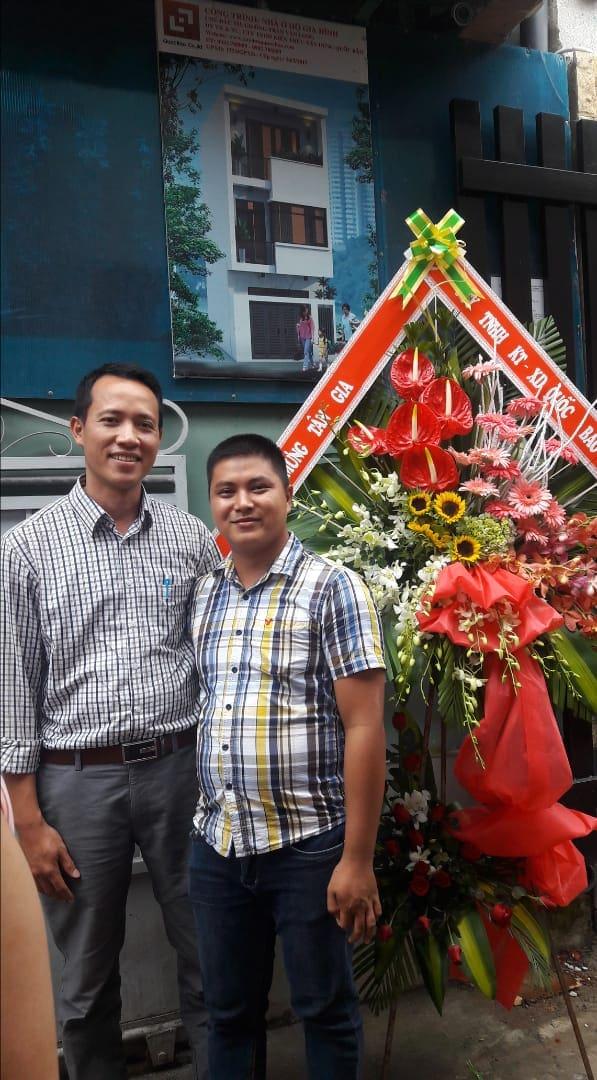 Công ty Quốc Bảo xin chúc mừng gia đình anh Quý khánh thành ngôi nhà mới