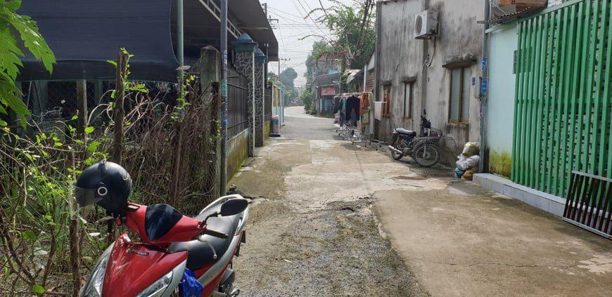 Khu đất của chị Kiều Anh nằm trong hẻm giao thông thuận lợi