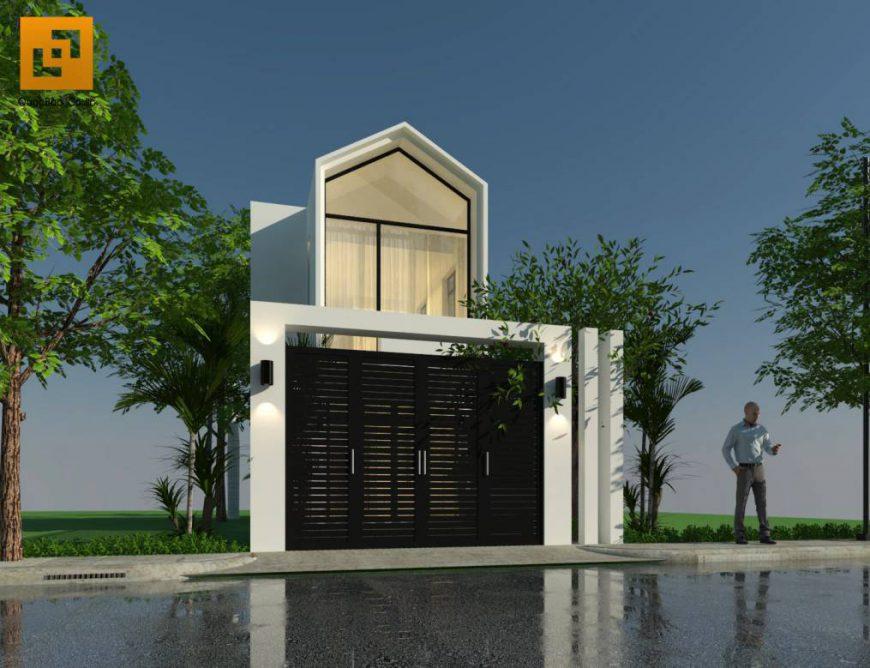 Mặt tiền nhà phố anh Phương tại Biên Hòa