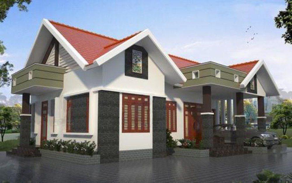 Mẫu nhà mái thái đẹp tại Biên Hòa