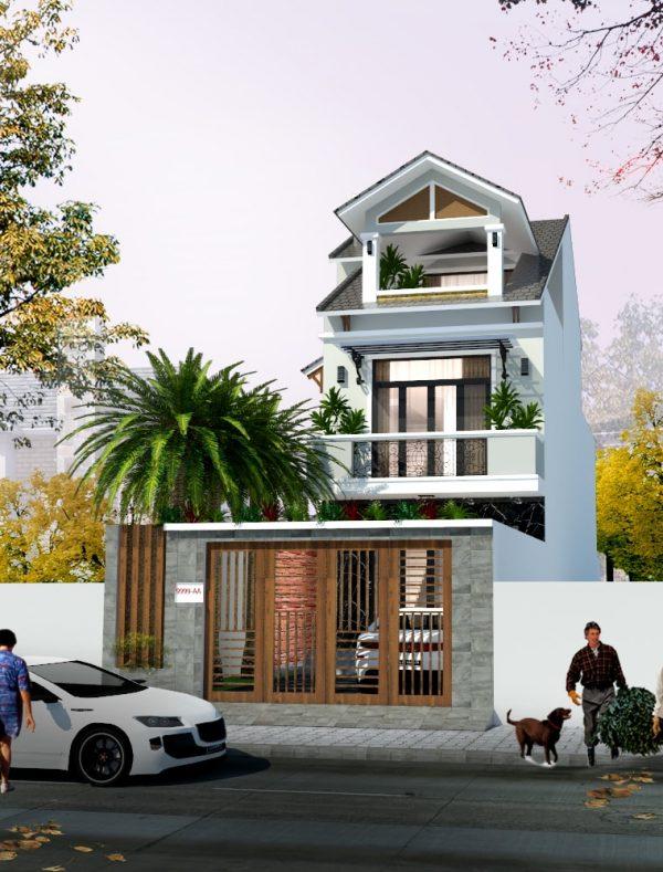 Mẫu nhà phố đẹp hiện đại tại Biên Hòa - Đồng Nai