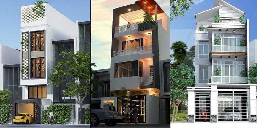 Nhà phố hiện đại đẹp tại Biên Hòa Đồng Nai - Mẫu 3