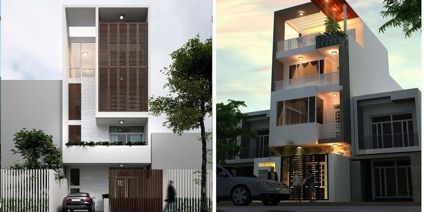 Nhà phố hiện đại đẹp tại Biên Hòa Đồng Nai - Mẫu 5