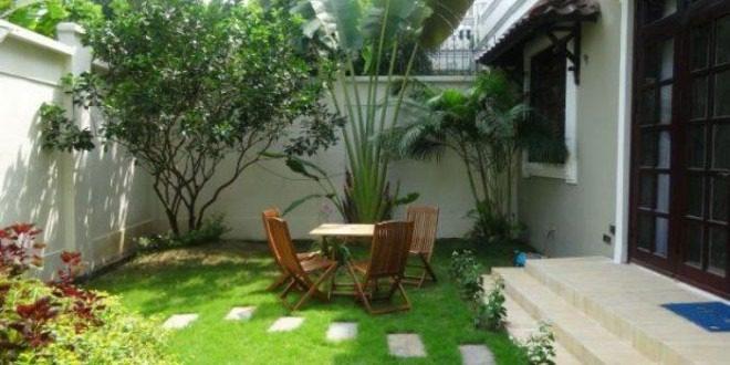 Mẫu thiết kế sân vườn - Ảnh 1