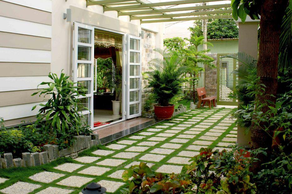 Mẫu thiết kế sân vườn - Ảnh 3