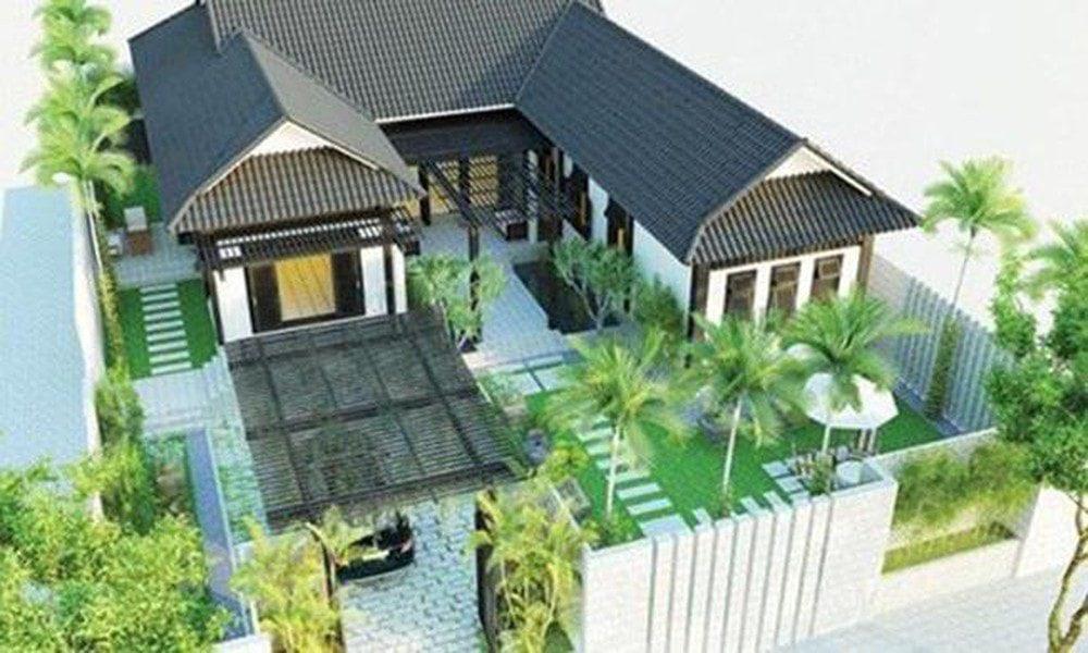 Nhà cấp 4 chữ L tại Biên Hòa