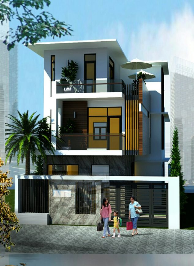 Nhà phố gia đình anh Thịnh tại Vũng Tàu