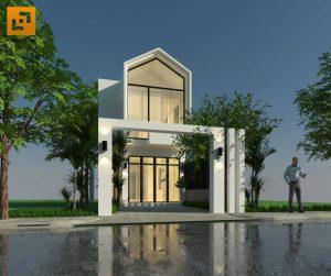 Nhà phố gia đình anh Phương tại Hố Nai - Biên Hòa
