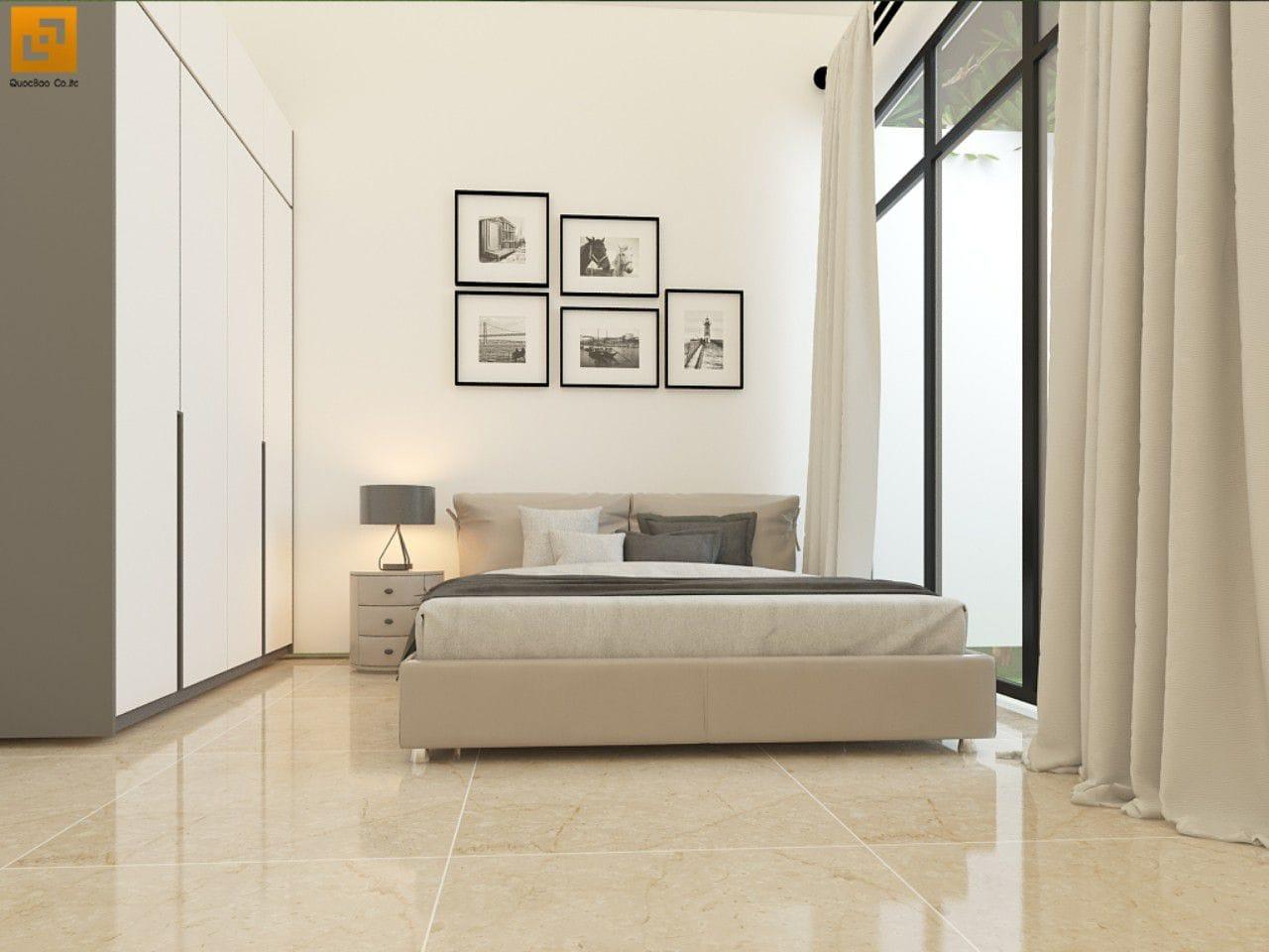 Nội thất phòng ngủ nhà phố gia đình anh Giang - Biên Hòa