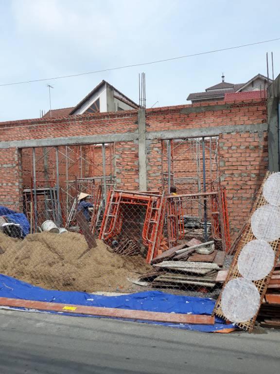 Thi công nhà phố 1 trệt 1 lầu anh Bằng tại Biên Hòa - Ảnh 7