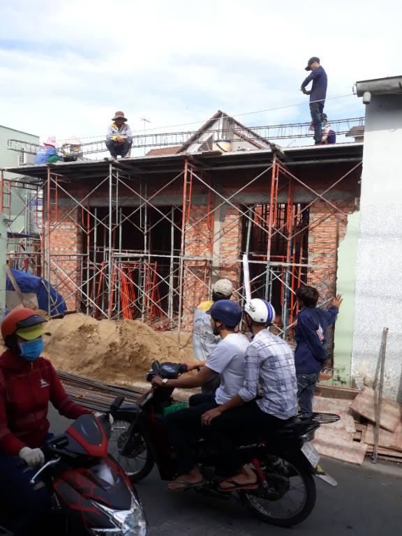 Thi công nhà phố 1 trệt 1 lầu anh Bằng tại Biên Hòa - Ảnh 4