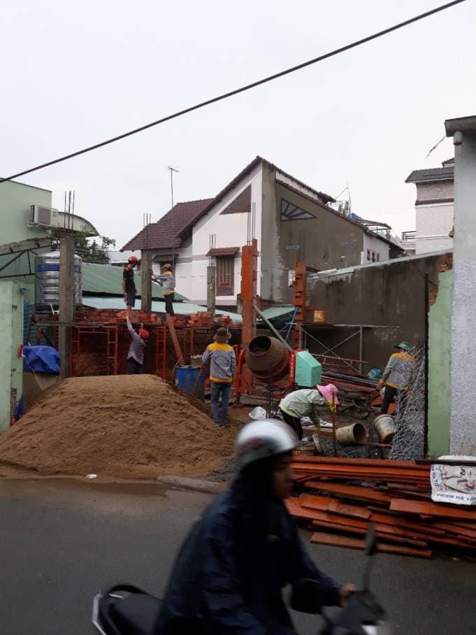 Thi công nhà phố 1 trệt 1 lầu anh Bằng tại Biên Hòa - Ảnh 3