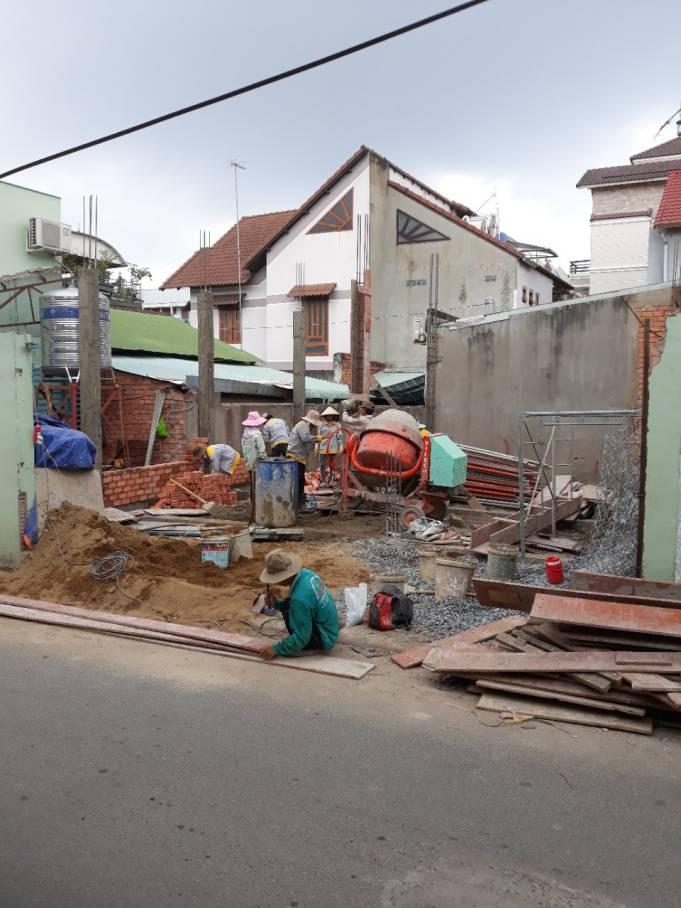 Thi công nhà phố 1 trệt 1 lầu anh Bằng tại Biên Hòa - Ảnh 2