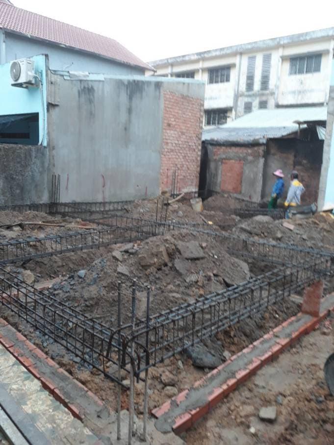 Thi công nhà phố 1 trệt 1 lầu anh Bằng tại Biên Hòa - Ảnh 1