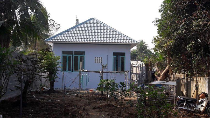 Thi công Biệt thự nhà vườn Cù lao phố tại Biên Hòa Đồng Nai - Ảnh công trường 13