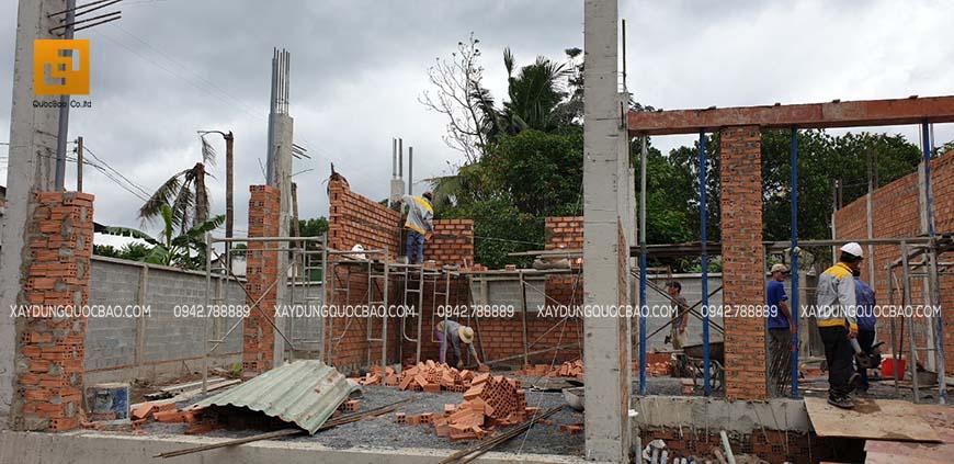 Thi công biệt thự nhà vườn chị Kiều Anh tại Biên Hòa – Ảnh 26