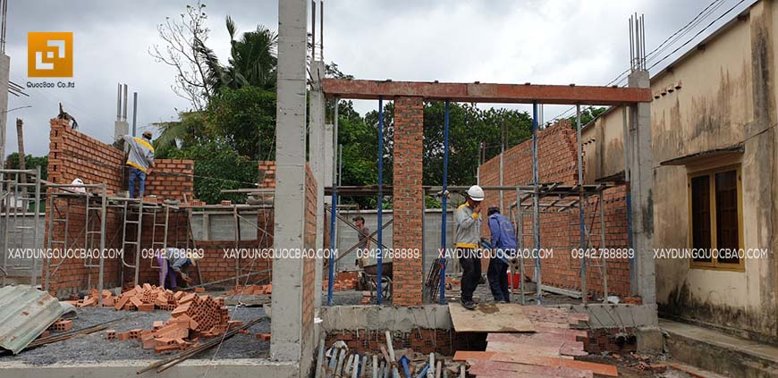 Thi công biệt thự nhà vườn chị Kiều Anh tại Biên Hòa – Ảnh 27