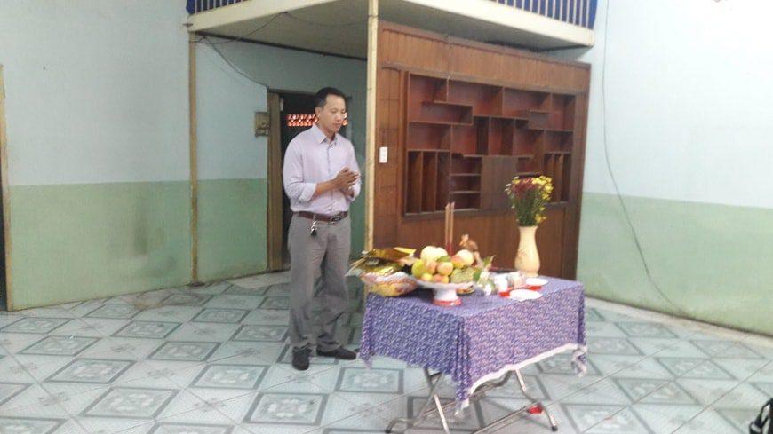 Làm lễ khởi công xây dựng Biệt thự phố cô Lan - Biên Hòa - Đồng Nai