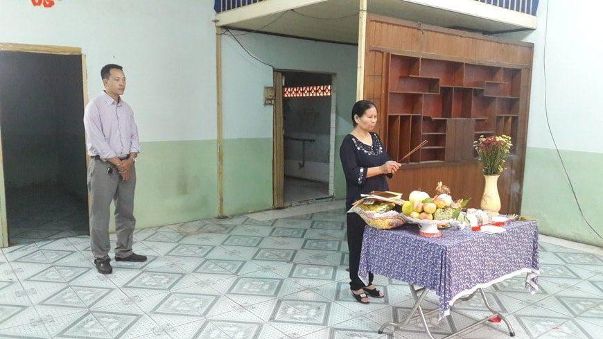 Thi công Biệt thự phố cô Lan - Tam Hiệp - Biên Hòa - Ảnh công trường 2