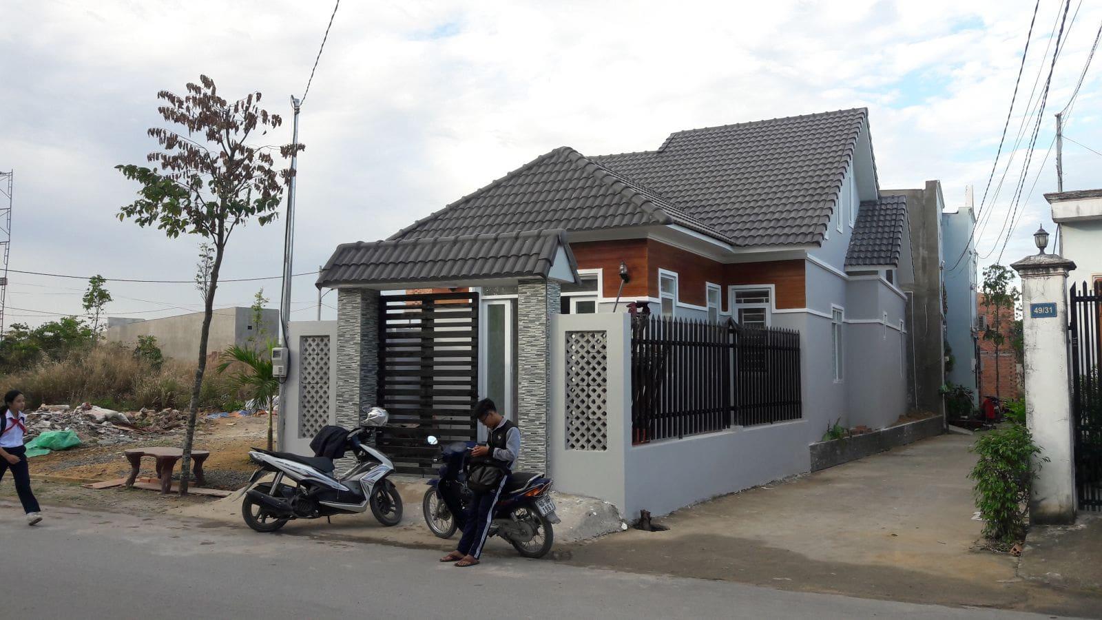 Thi công nhà cấp 4 mái thái cô Minh tại Biên Hòa - Ảnh thi công 7