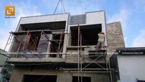 Thi công nhà phố 1 trệt 1 lầu anh Bằng tại Biên Hòa - Ảnh 33
