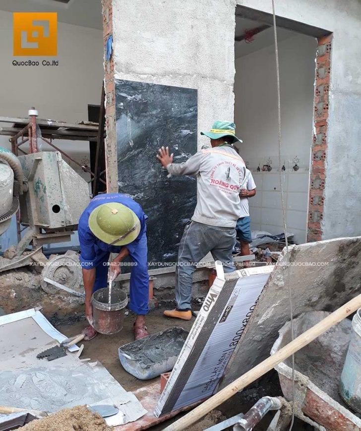 Thi công nhà phố 1 trệt 1 lầu anh Bằng tại Biên Hòa - Ảnh 35