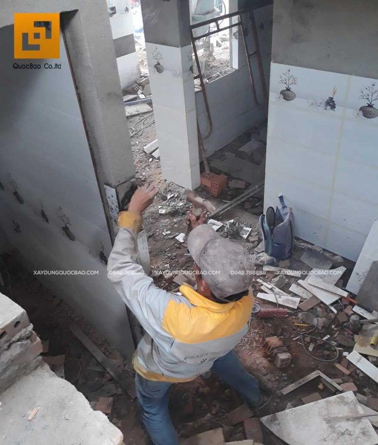 Thi công nhà phố 1 trệt 1 lầu anh Bằng tại Biên Hòa - Ảnh 34