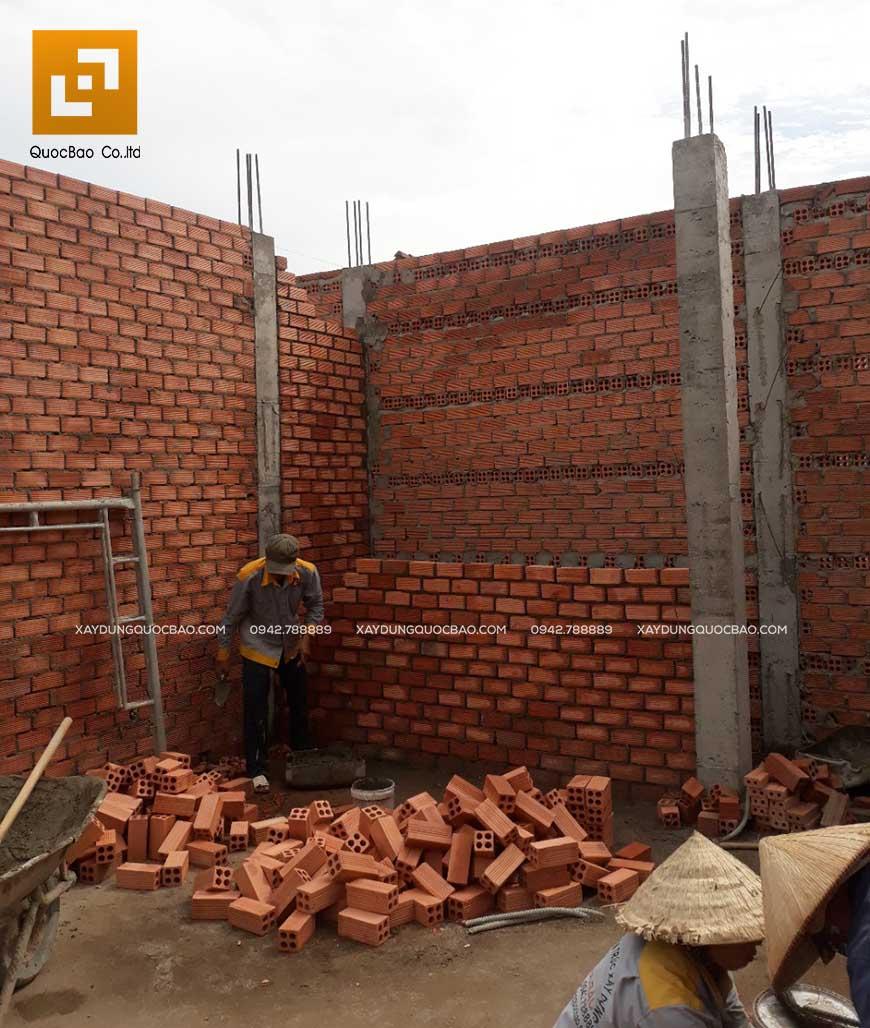 Thi công nhà phố 1 trệt 1 lầu anh Bằng tại Biên Hòa - Ảnh 19