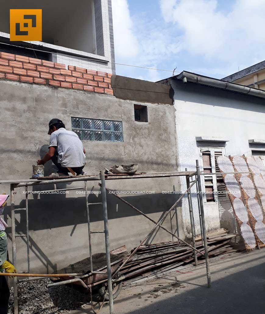 Thi công nhà phố 1 trệt 1 lầu anh Bằng tại Biên Hòa - Ảnh 29