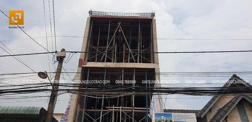 Thi công nhà phố 4 tầng hiện đại tại Đồng Nai - Ảnh 8